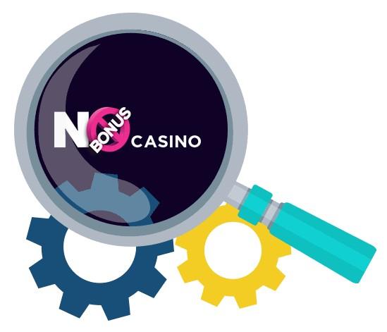 No Bonus Casino - Software