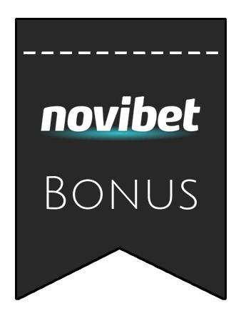 Latest bonus spins from Novibet Casino