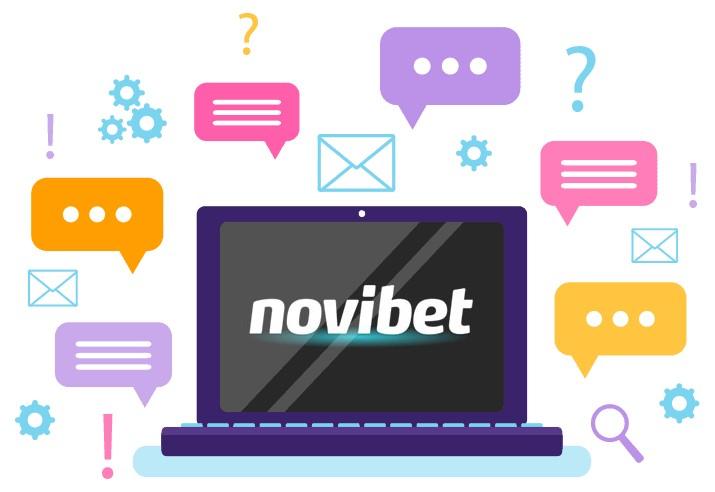 Novibet Casino - Support