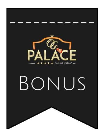 Latest bonus spins from OG Palace
