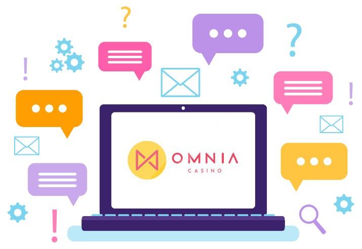 Omnia Casino - Support