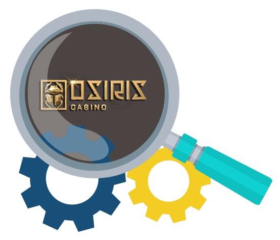 Osiris Casino - Software