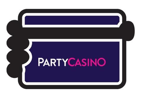 PartyCasino - Banking casino