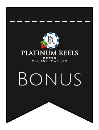 Latest bonus spins from Platinum Reels