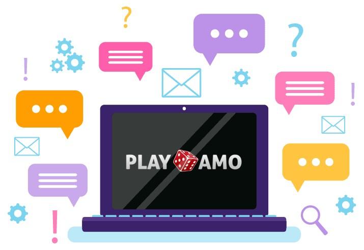 Play Amo Casino - Support