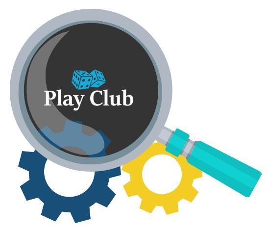 Play Club Casino - Software
