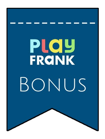 Latest bonus spins from Play Frank Casino