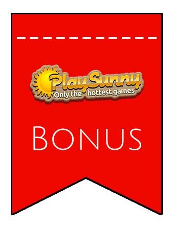 Latest bonus spins from Play Sunny