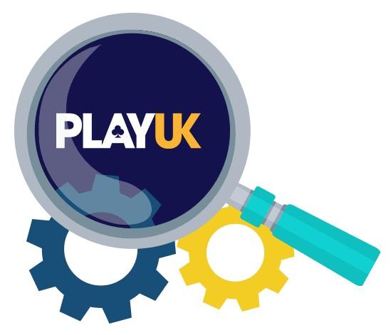 Play UK Casino - Software