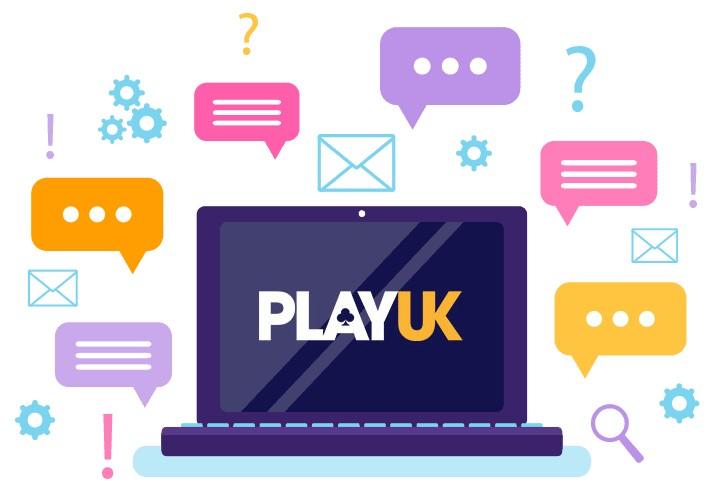 Play UK Casino - Support
