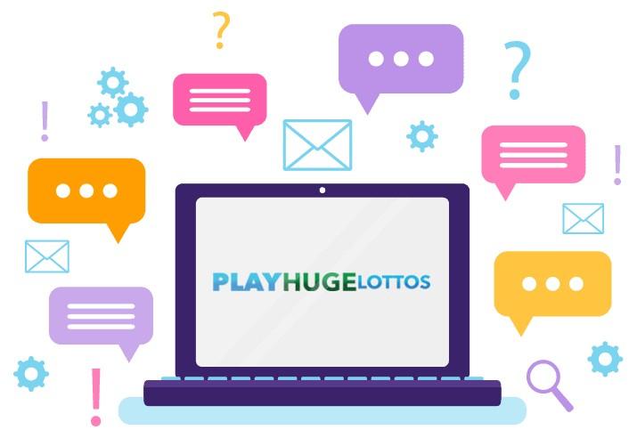 PlayHugeLottos Casino - Support