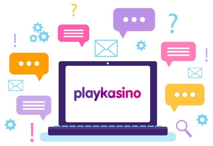 Playkasino - Support
