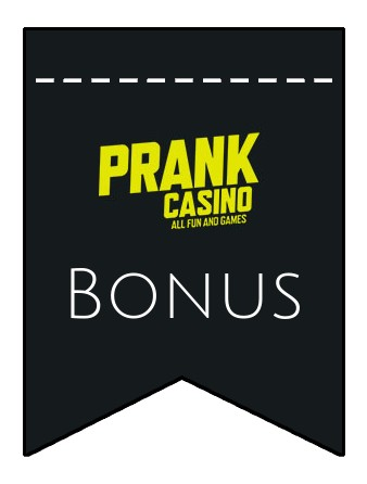 Latest bonus spins from Prank Casino