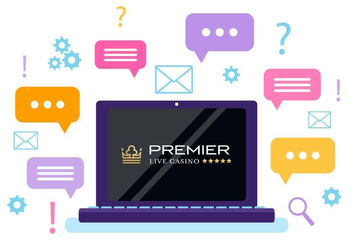 Premier Live Casino - Support
