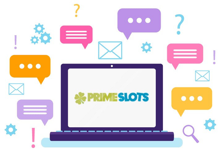 Prime Slots Casino - Support