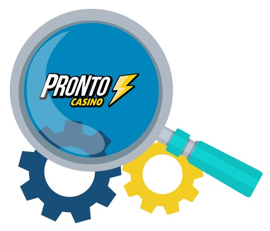 Pronto Casino - Software