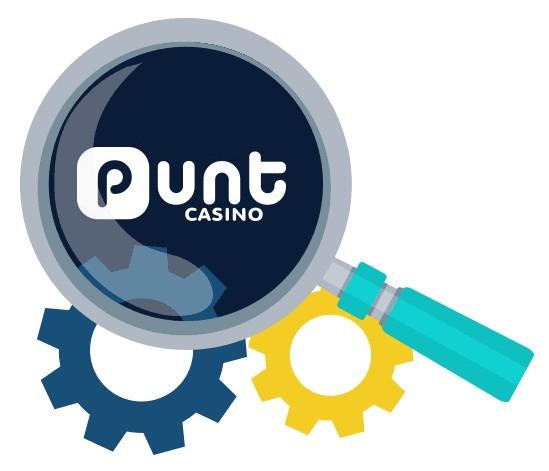 Punt Casino - Software
