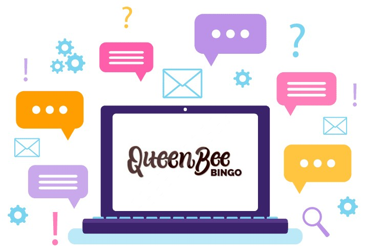 Queen Bee Bingo Casino - Support