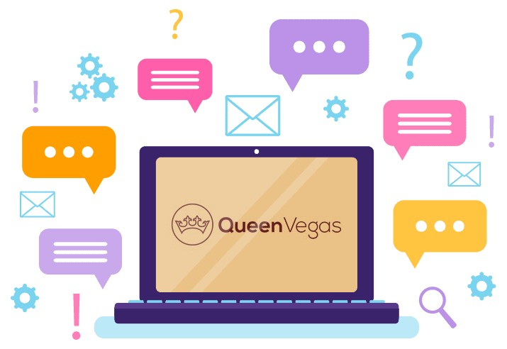 Queen Vegas Casino - Support