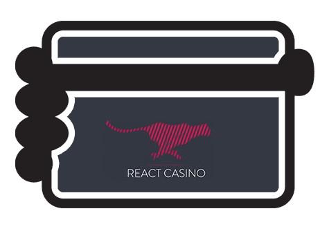React Casino - Banking casino