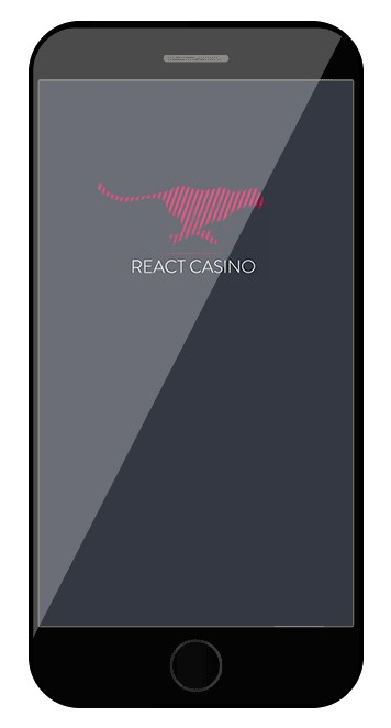 React Casino - Mobile friendly