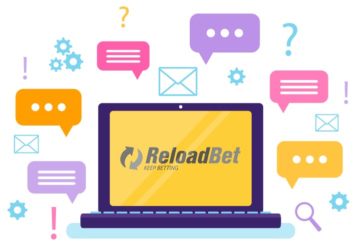 ReloadBet Casino - Support