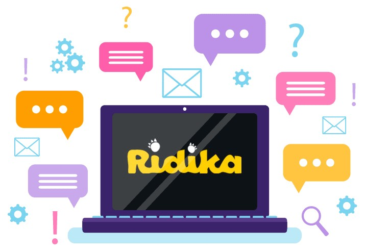Ridika Casino - Support