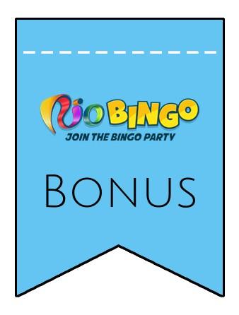 Latest bonus spins from Rio Bingo