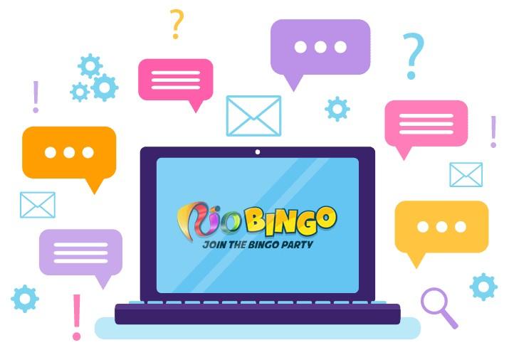 Rio Bingo - Support