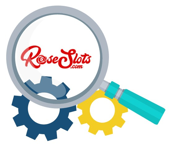 Rose Slots Casino - Software