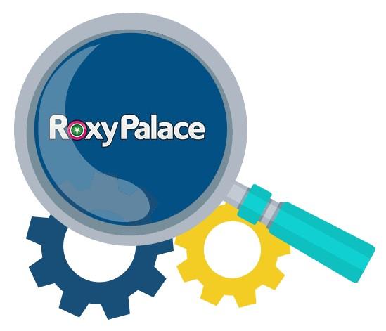 Roxy Palace Casino - Software