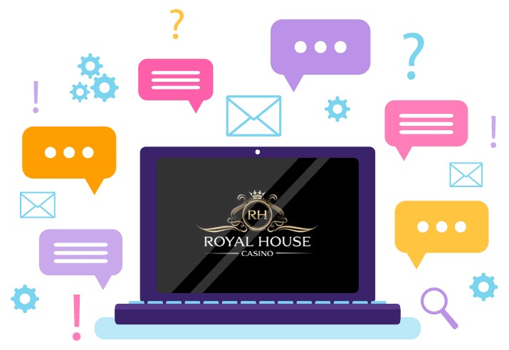 Royal House Casino - Support