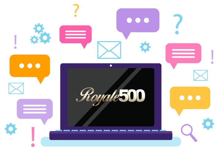 Royale 500 Casino - Support
