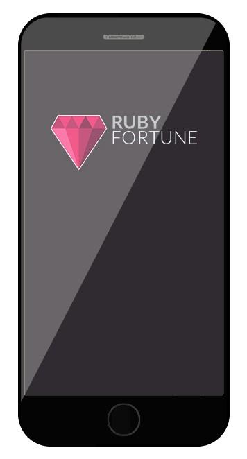 Ruby Fortune Casino - Mobile friendly