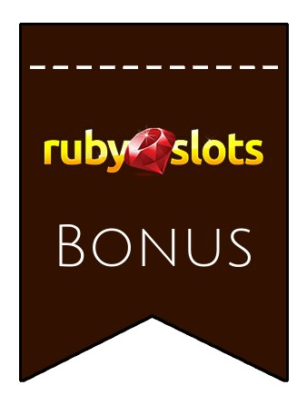 Latest bonus spins from Ruby Slots Casino