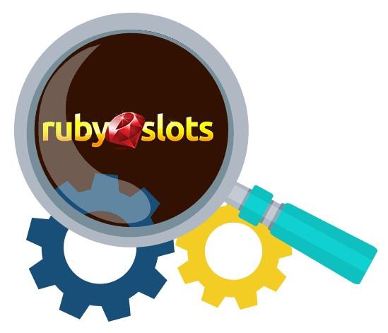 Ruby Slots Casino - Software