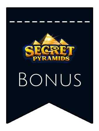 Latest bonus spins from Secret Pyramids Casino