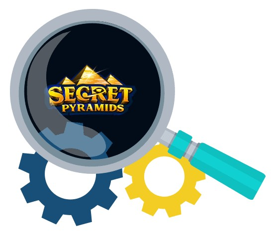 Secret Pyramids Casino - Software