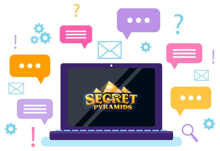 Secret Pyramids Casino - Support