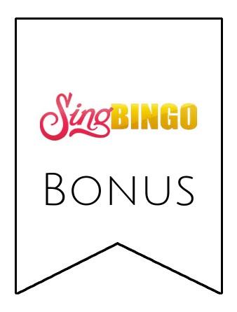 Latest bonus spins from Sing Bingo
