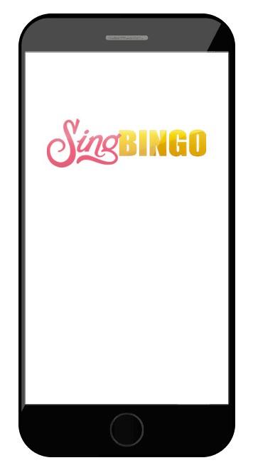 Sing Bingo - Mobile friendly