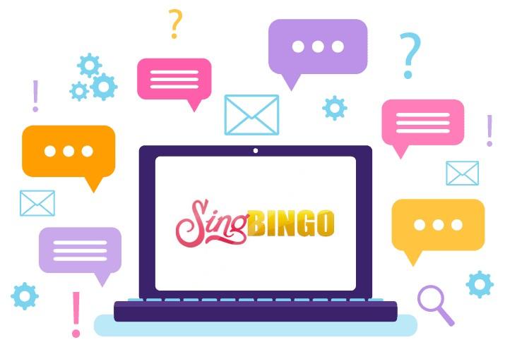 Sing Bingo - Support