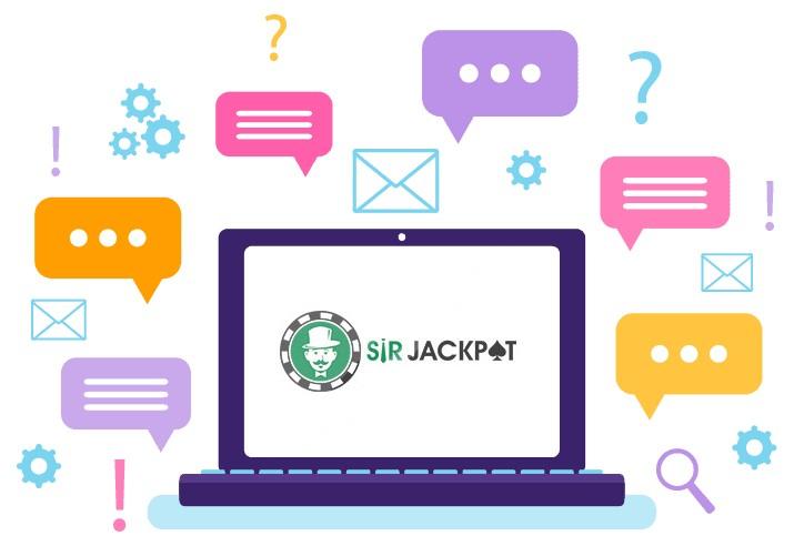 Sir Jackpot Casino - Support