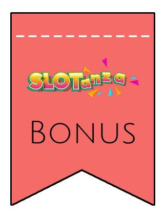 Latest bonus spins from Slotanza