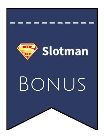 Latest bonus spins from Slotman