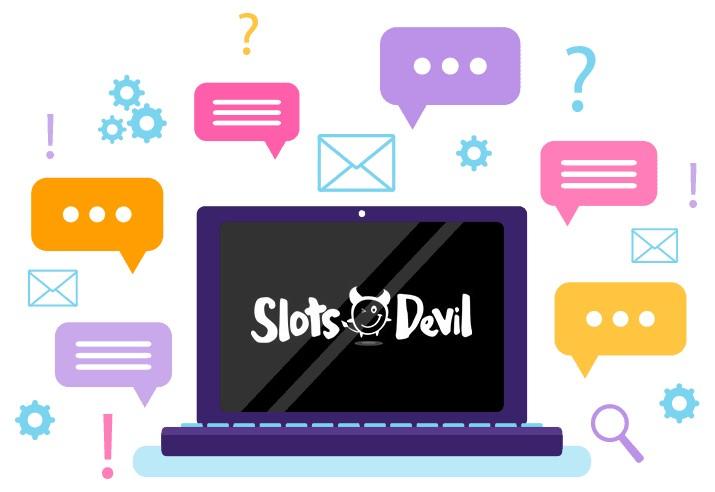 Slots Devil Casino - Support