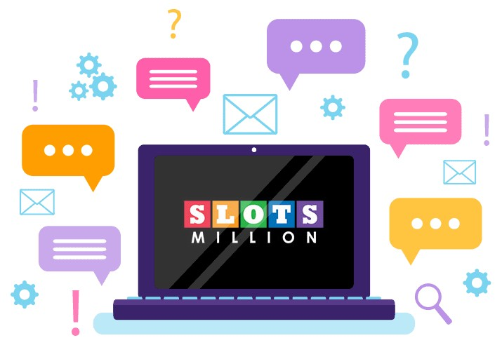 Slots Million Casino - Support
