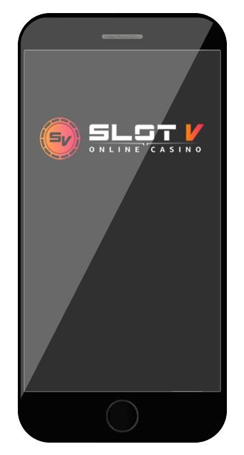 SlotV Casino - Mobile friendly