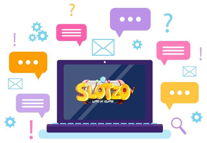Slotzo Casino - Support