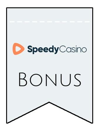 Latest bonus spins from Speedy Casino